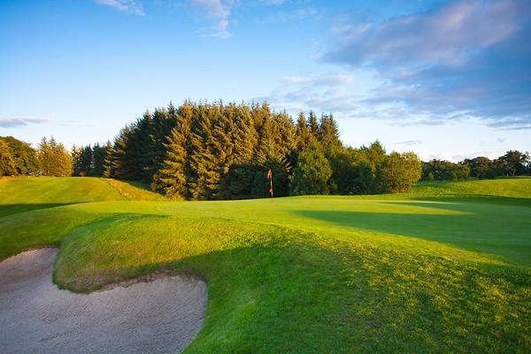 11th green, Balmore Golf Club