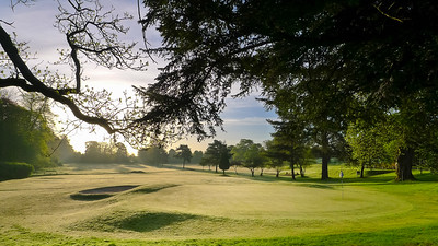 Into the light, Keir 18th hole