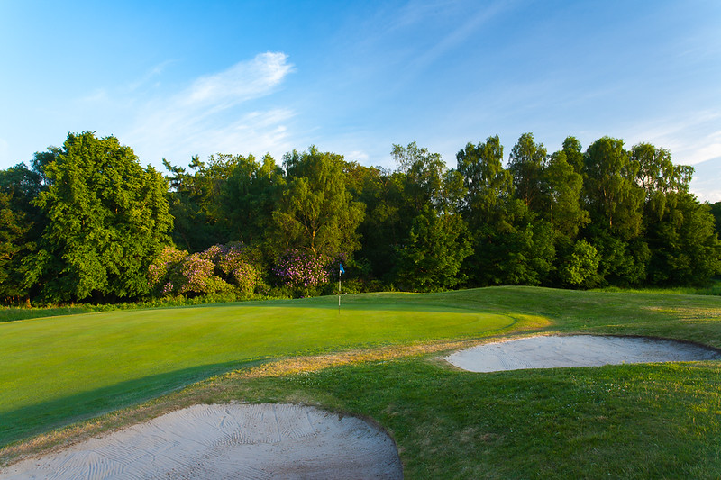 Bunkers and woodland