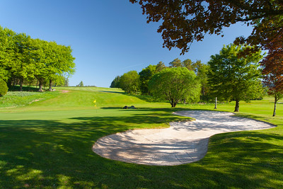 Greenside bunker