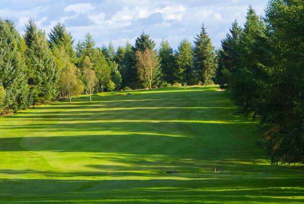 Tee view, Hilton Park Golf Club