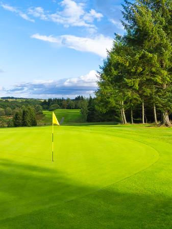 Green Curve Portrait, Hilton Park Golf Club