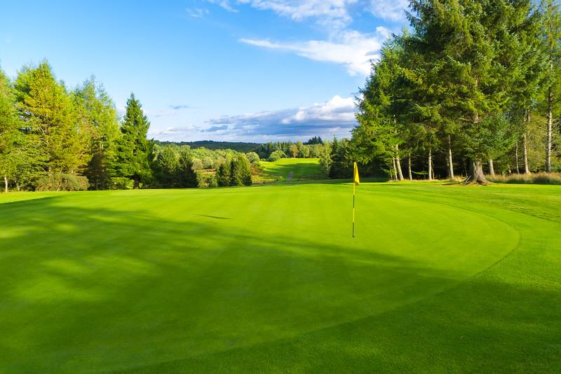 Green stripes, Hilton Park Golf Club