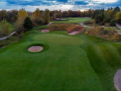 2nd Green and 3rd Hole at Loggers Trail
