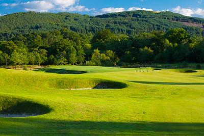 1st hole The Carrick Golf Course