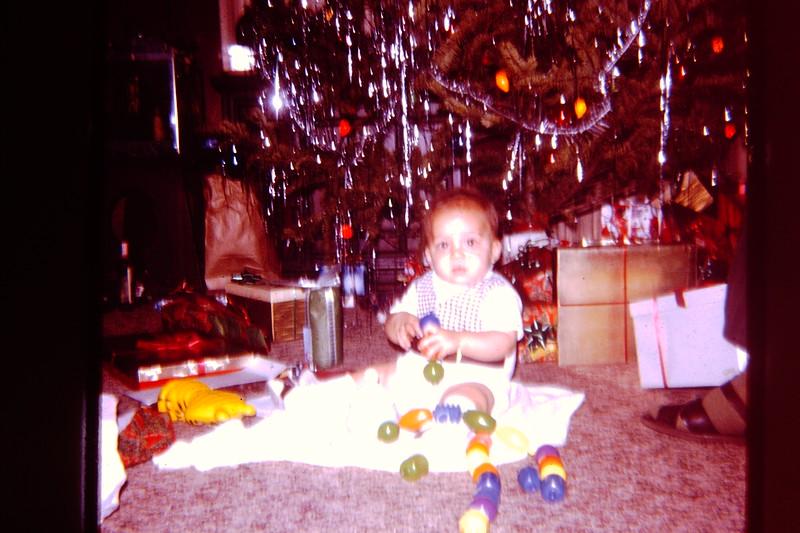 Joel at Gram's at Xmas