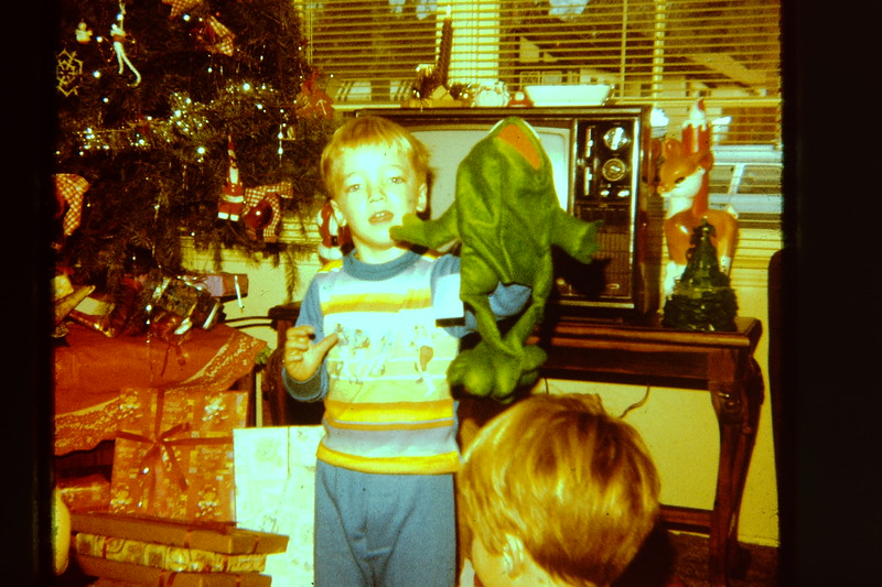 Jonathan's Kermit Puppet