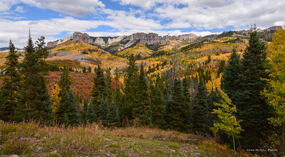 Changing colors on Owl Creek Pass
