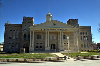 Hamilton County Courthouse, Hamilton, TX