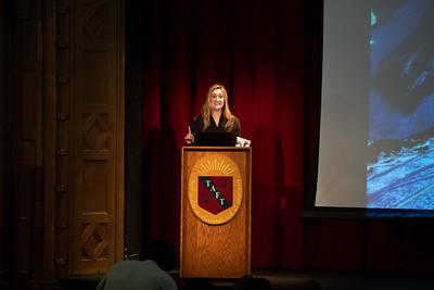Courtney Reardon '03 Morning Meeting