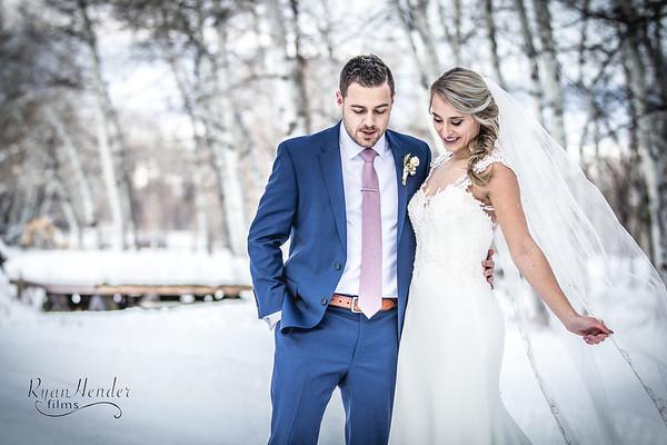 Courtney + Trevor wedding day