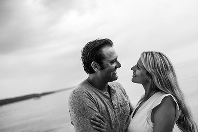 Courtney and Cam//Georgian Bay Beach Engagement, ©KateHood, 2016