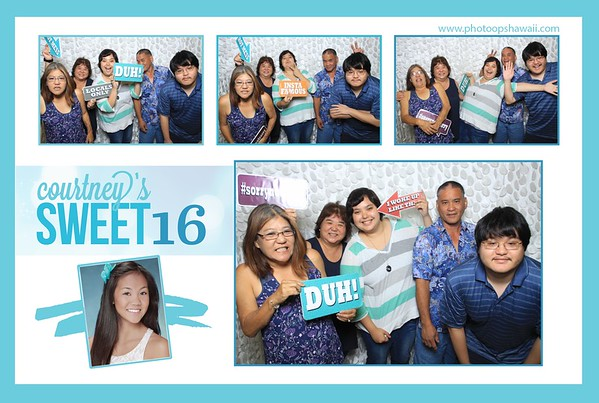 Courtney's Sweet 16 Party (Fusion Photo Booth)