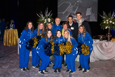UD Vs Notre Dame basketball game presidential reception