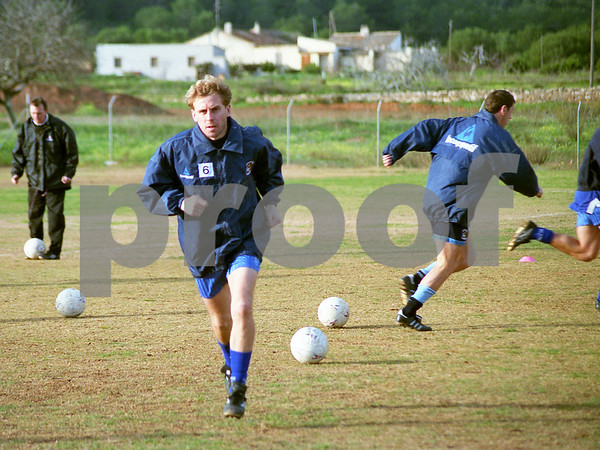 Coventry City F.C. training at La Manga Club, 7th January 1997