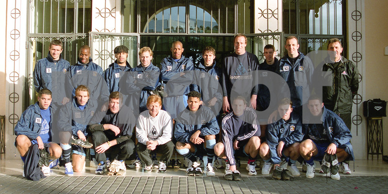 Coventry City F.C.. team shot at La Manga Club, 7th January 1997