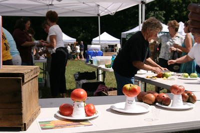Carole samples out Heirlooms