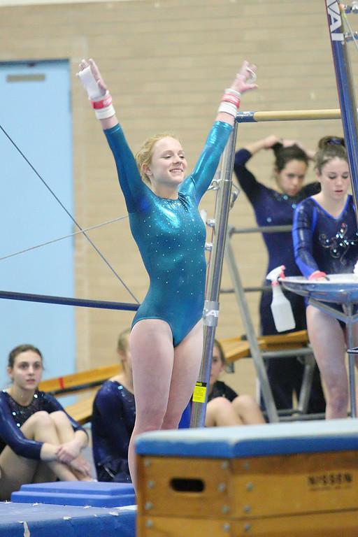 Coventry High School Gymnastics 2012 - lacks-focus