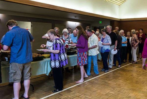 Choir Appreciation Dinner, June 6, 2014