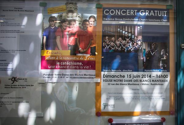 Paris Concert: More Pics
