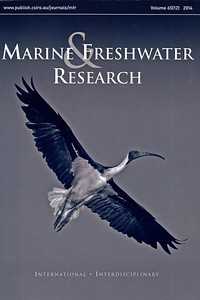 Marine & Freshwater Research journal 2014