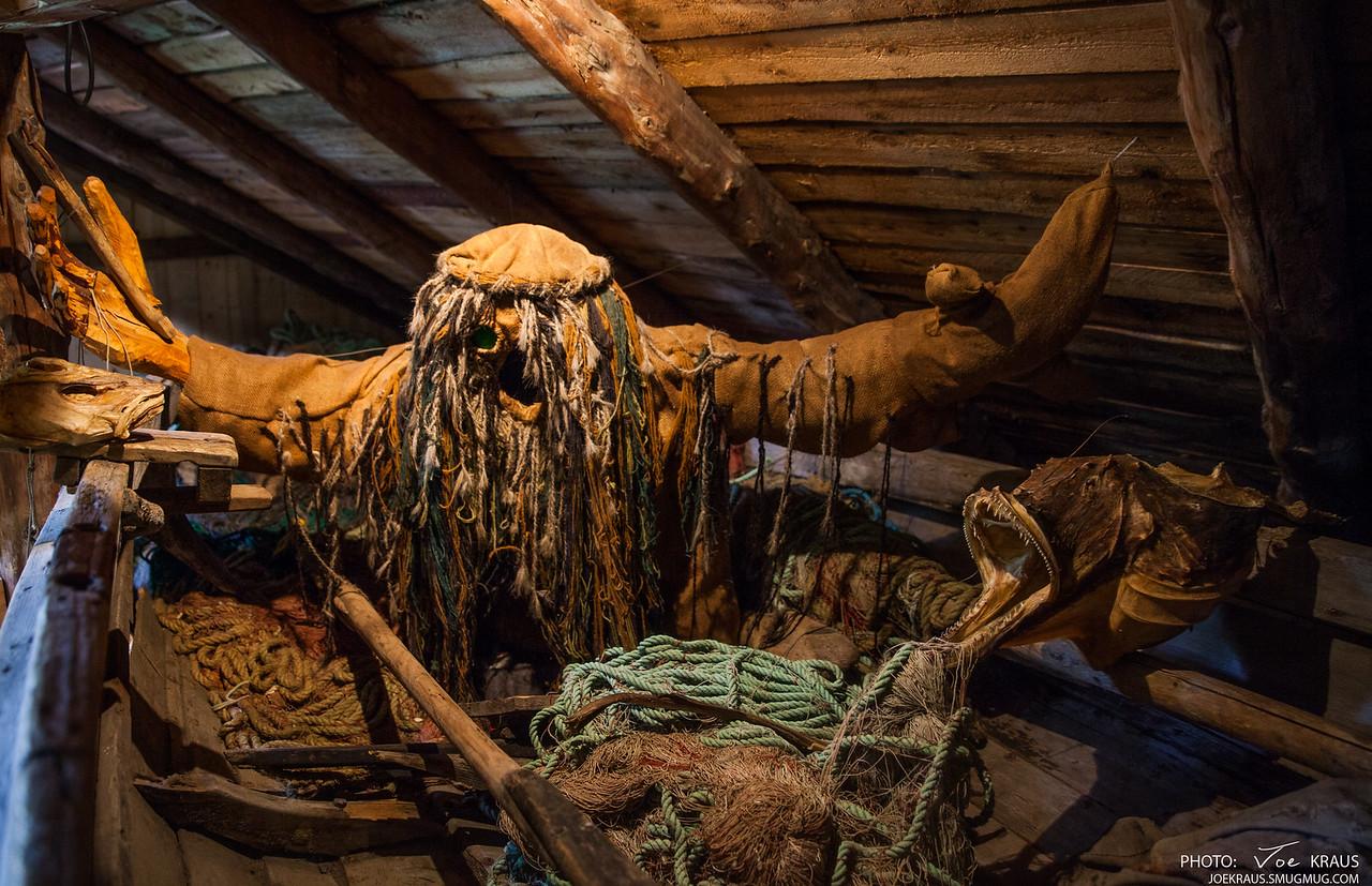 Traditional Fisherman of Å, Lofoten