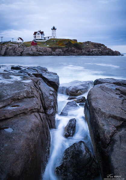 Stormy Nubble Sunset