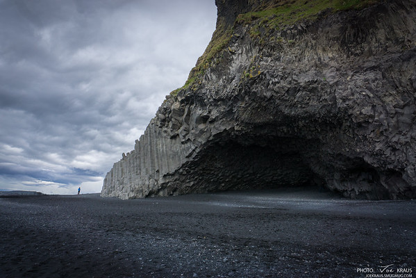 Black Beach Cave