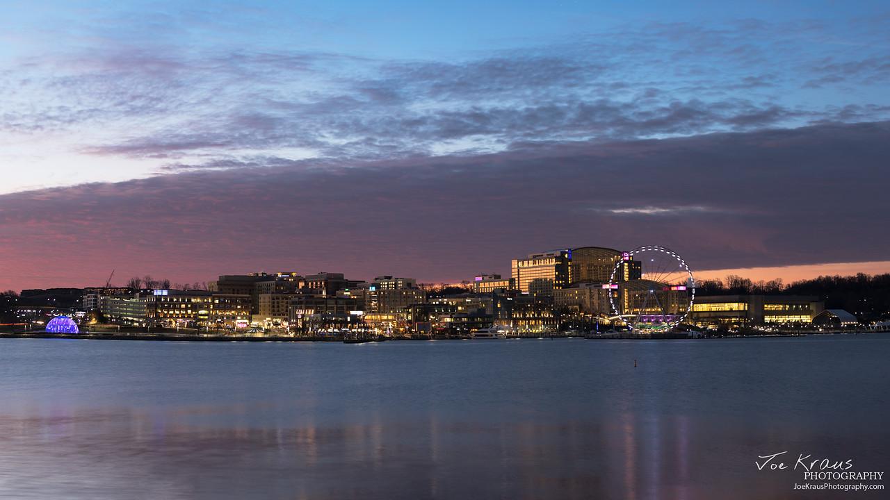 Purple Skies at National Harbor