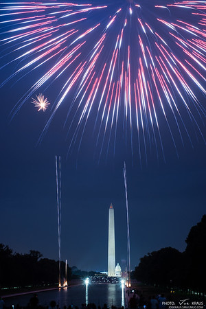 Fireworks over Washington