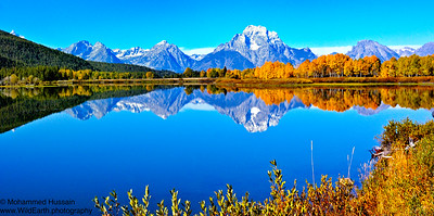Inspiring Place - Mt. Moran and Oxbow Bend - Grand Teton National Park, Wyoming