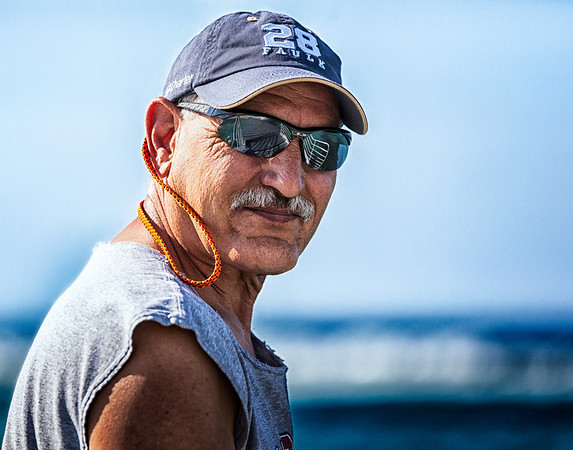 Tony, Fun Portrait, Rough, Grand Cayman Island