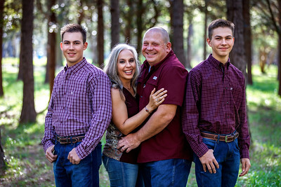 Kymberly Foster Drury and Family