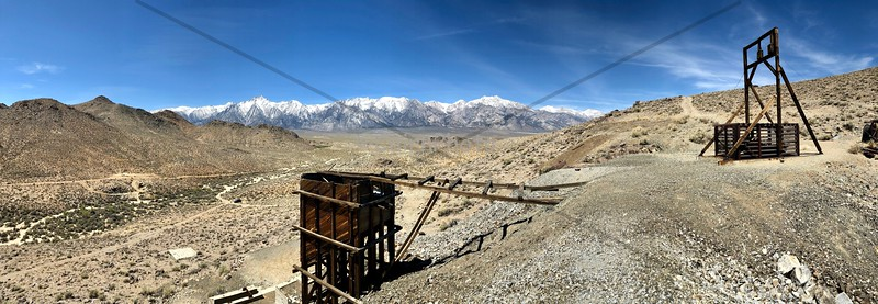 Abandoned Mine, Alabama Hills, Lone Pine, CA