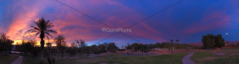 Death Valley Sunset pano