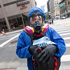 NEW YORK - July 7, 2020: for NEWS. Joseph Powell, of Flushing Queens, giving out PPE to essential workers for free to combat price gouging on masks and latex gloves as shopping activity around Macy's and 34th Street Herald Square returning to midtown amid phase 3 reopening from the COVID-19 coronavirus pandemic.<br /> <br />  Nypostinhouse (Photo by: Taidgh Barron/NY Post)
