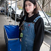NEW YORK - March 19, 2020: for NEWS.  NYU freshmen Shea Grant, 18, of New Jersey moving out of Lipton Hall on Washington Square West after NYU ordered students to vacate the dorm rooms amid the COVID-19 coronavirus pandemic.  nypostinhouse (Photo by: Taidgh Barron/NY Post)