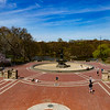 NEW YORK - April 7, 2020: for NEWS. A sparsely populated Bethesda Terrace on a nice weather day amid the COVID-19 Coronavirus pandemic. nypostinhouse (Photo by: Taidgh Barron/NY Post)