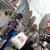 NEW YORK - July 7, 2020: for NEWS. Shopping activity around Macy's and 34th Street Herald Square returning to midtown amid phase 3 reopening from the COVID-19 coronavirus pandemic.<br /> <br />  Nypostinhouse (Photo by: Taidgh Barron/NY Post)