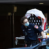 NEW YORK - March 27, 2020: for NEWS. FDNY EMTs respond to a 911 call at 75 West End Avenue in the Upper East Side amid the COVID-19 coronavirus outbreak. nypostinhouse (Photo by: Taidgh Barron/NY Post)
