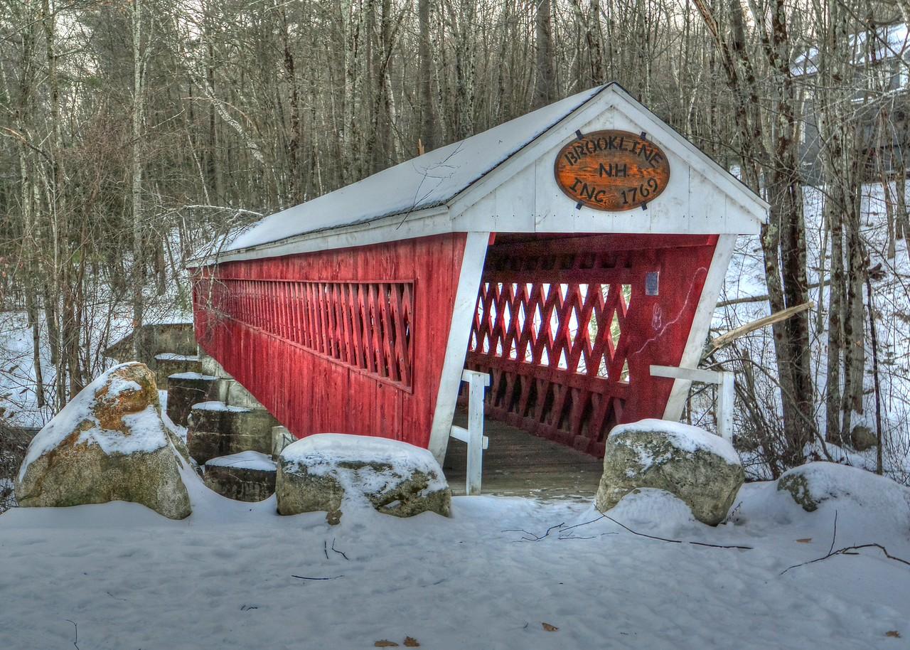 #12 Brookline Covered Bridge