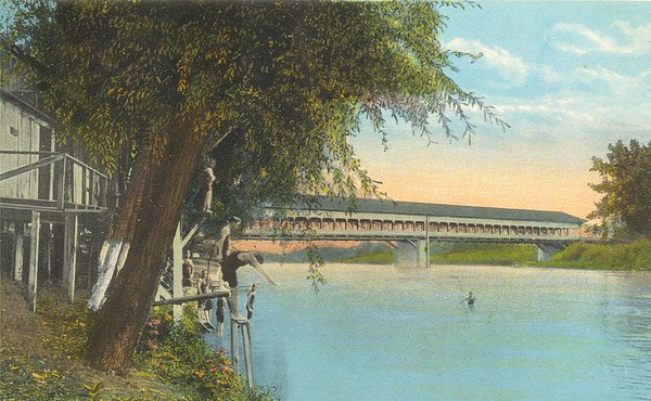 Connersville Covered Bridge