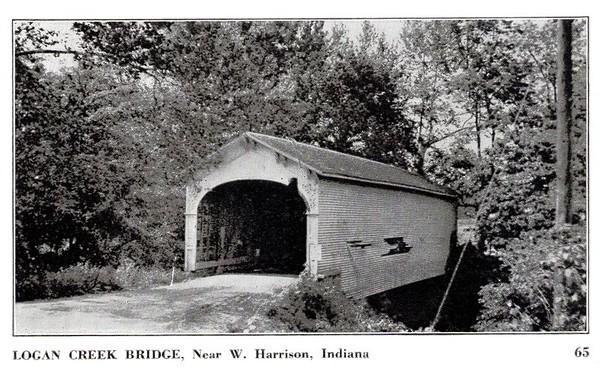 Logan Creek Covered Bridge