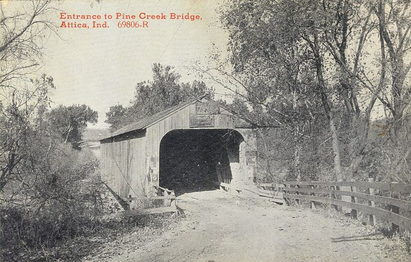 Pine Creek Covered Bridge