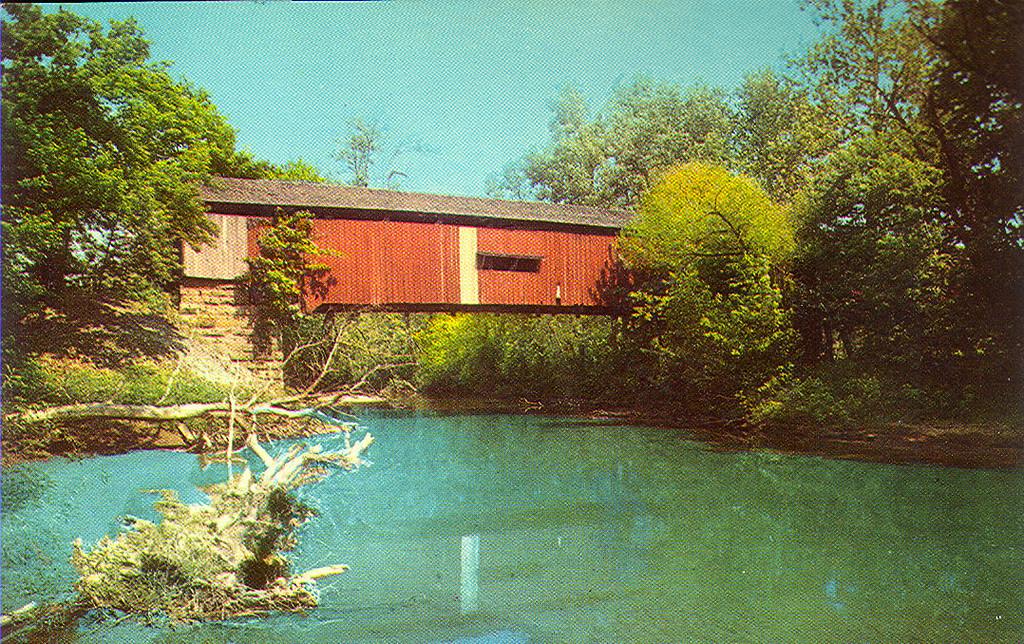 Red Bridge, Parke County, Indiana