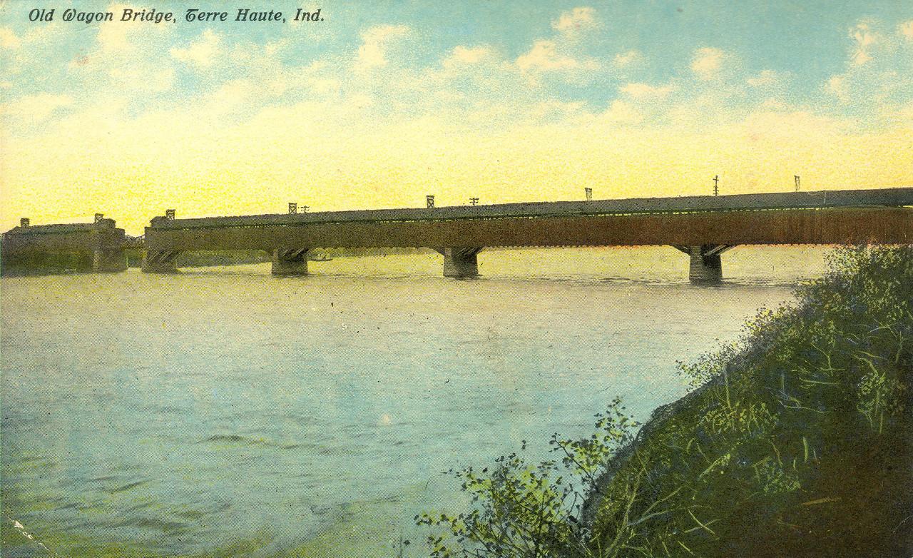 Terre Haute Wabash River Covered Bridge.