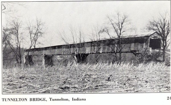 Tunnelton Covered Bridge