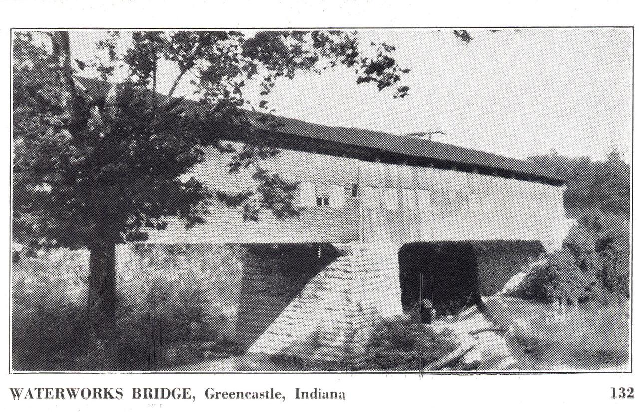 Waterworks Covered Bridge, Putnam County, Indiana