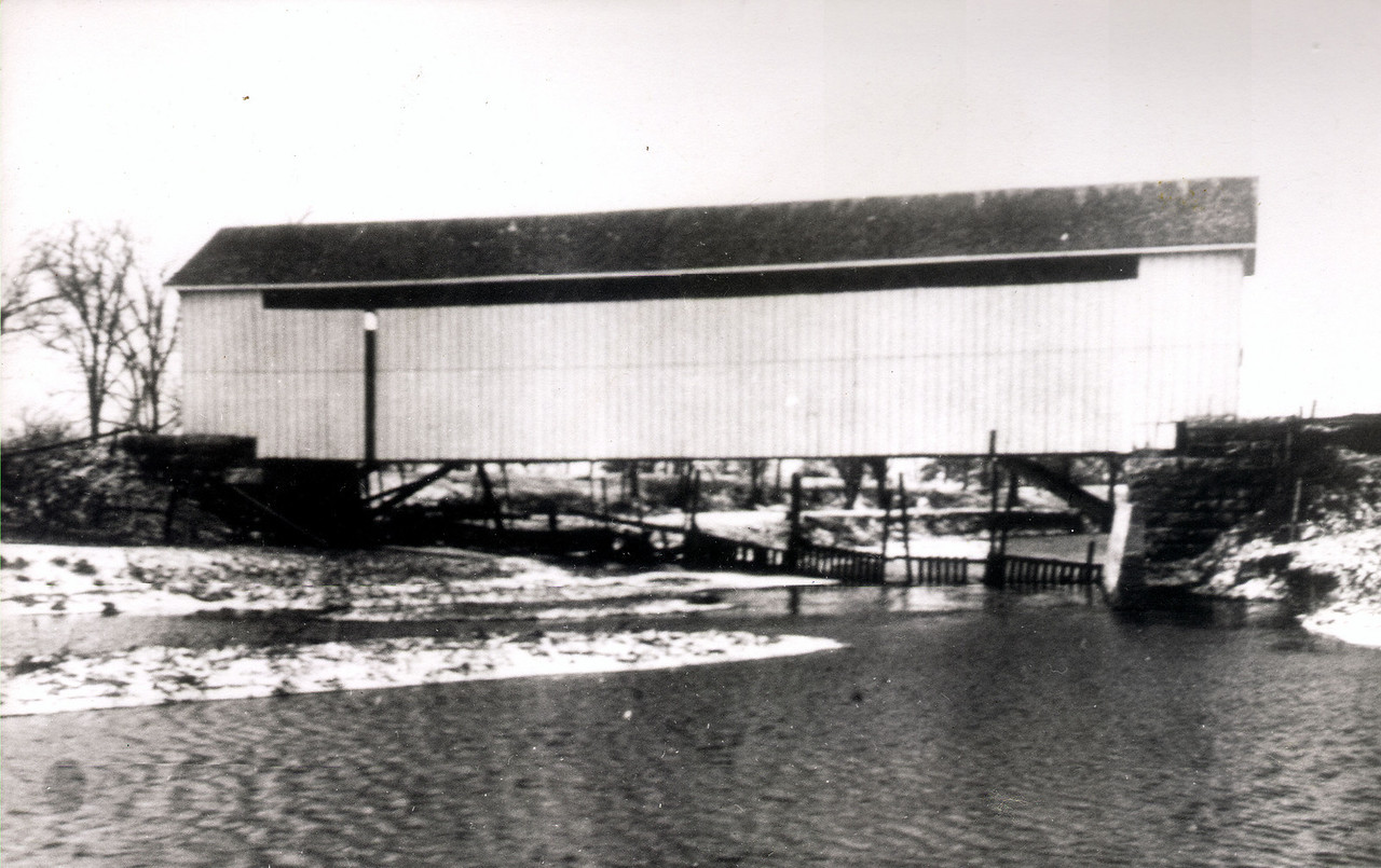 Wingate Covered Bridge was located in Montgomery County, Indiana.