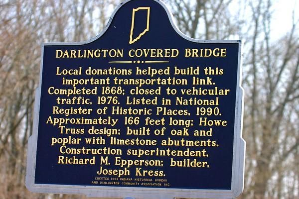 Darlington Covered Bridge